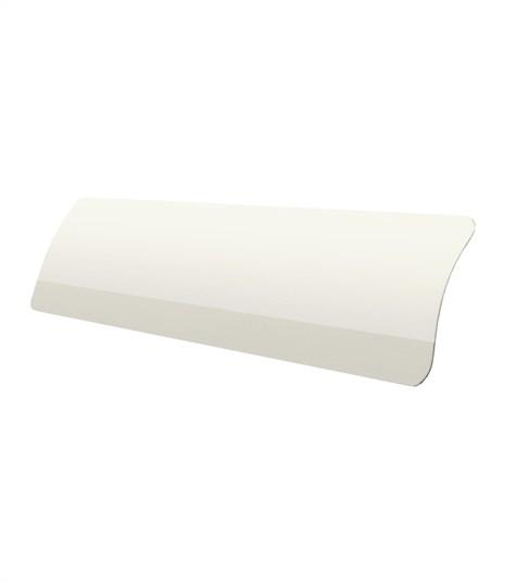 Allure - Aluminium jaloezie 25mm kleurstaal - Cream White 7022