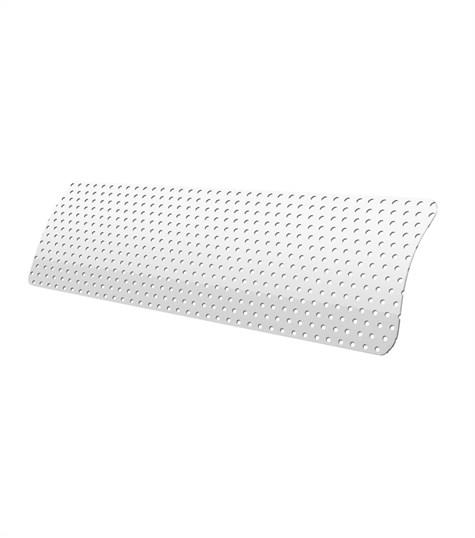 Allure - Aluminium jaloezie 25mm kleurstaal - Snow White perforated 7027