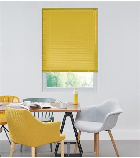 Allure - Aluminium jaloezie 16mm - Warm Yellow 7508