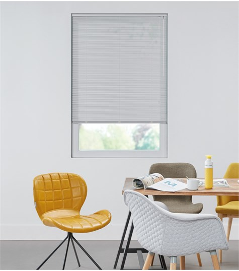 Allure - Aluminium jaloezie 25mm - Silver perforated 7111