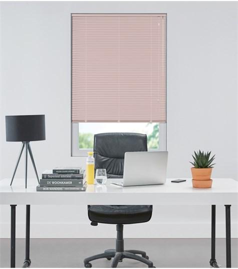 Allure - Aluminium jaloezie 25mm - Sorbet Pink 7309