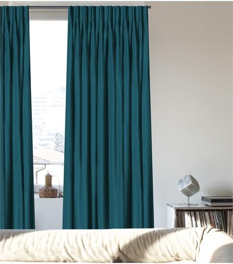 Gordijn - Dubbele Plooi - Less - Turquoise