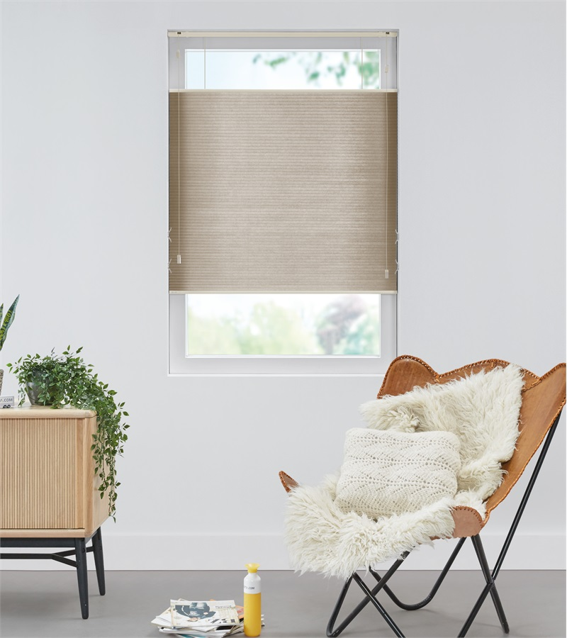 Pleated blinds  Raamdecoratie op maat  bece