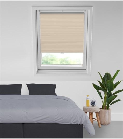 Energy - Plissegordijn Dakraam RH10 - Whisper White C4002
