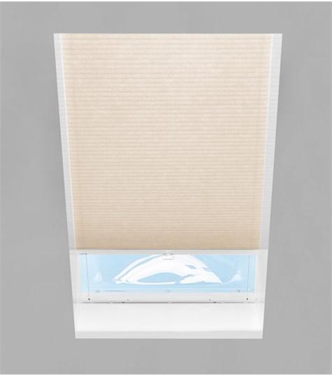 Energy - Plissegordijn Lichtkoepel SH10 - Creamy C2501