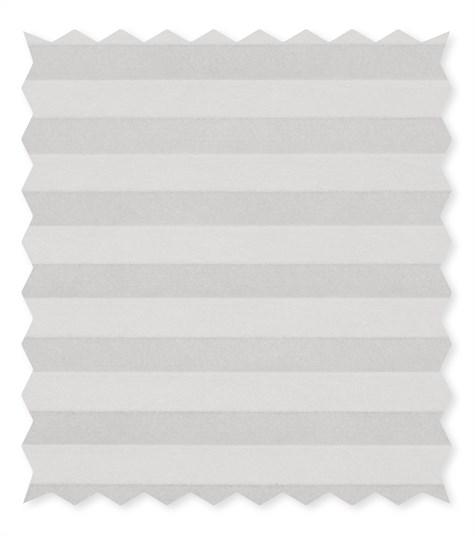 Energy - 25mm - Kleurstaal plissegordijnen - Silver  - 1113