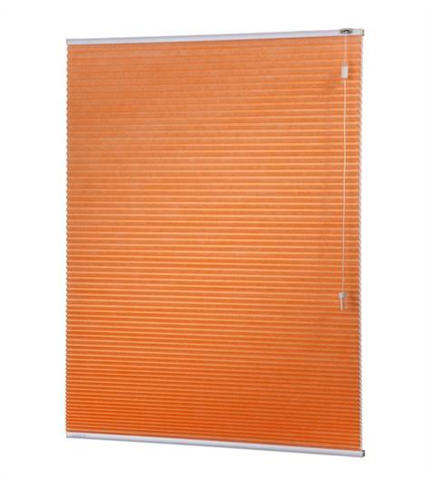 Energy - 25mm - Kleurstaal plissegordijnen - Pure orange - 1510