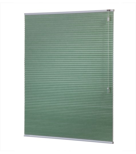 Energy - 25mm - Kleurstaal plissegordijnen - Olive green - 1605