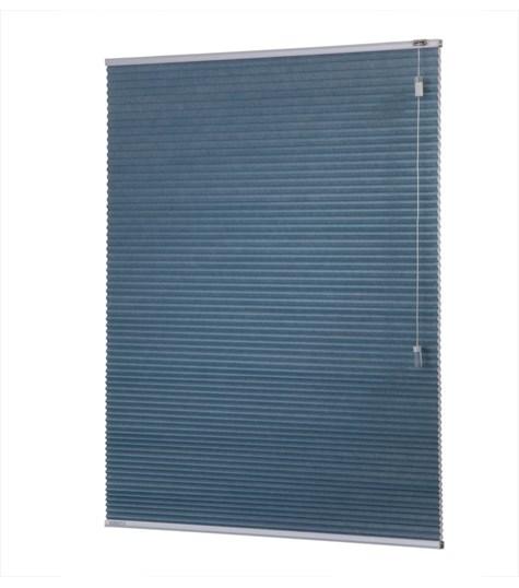 Energy - 25mm - Kleurstaal plissegordijnen - Polar blue - 1705
