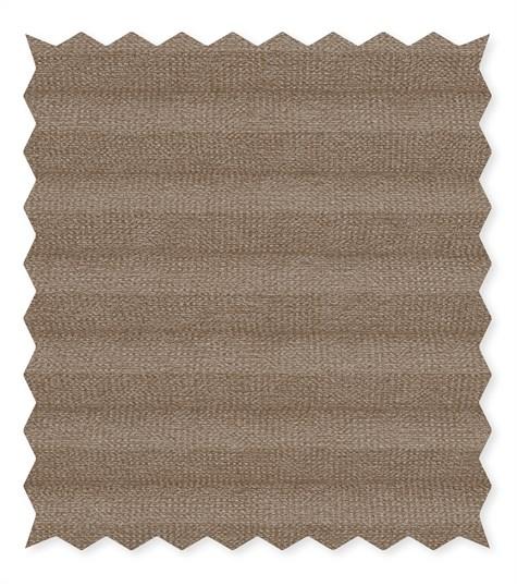 Energy - 25mm - Kleurstaal plissegordijnen - Cocoa brown - C2401