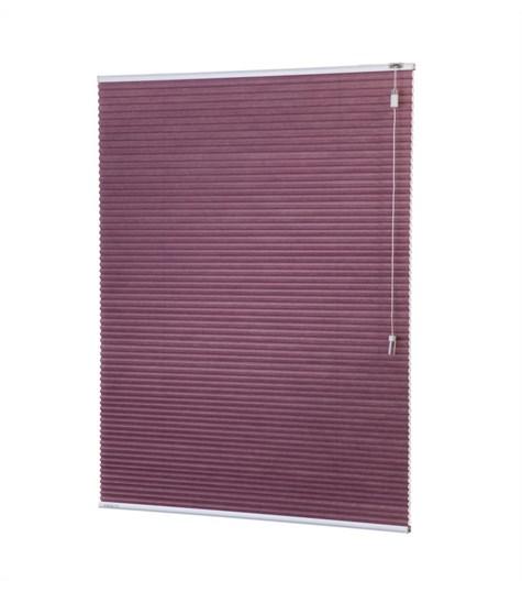 Energy - 25mm - Kleurstaal plissegordijnen - Cold purple - C2801