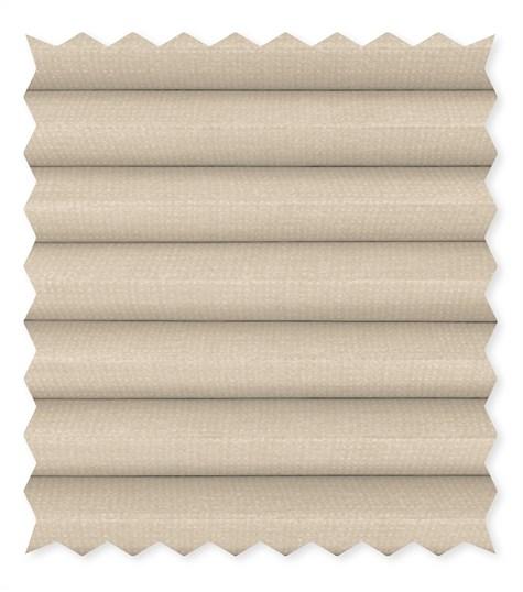 Energy - 25mm - Kleurstaal plissegordijnen - Whisper white - C4002