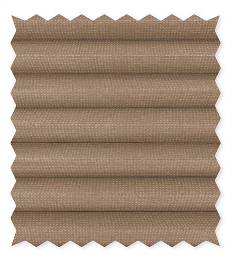 Energy - 25mm - Kleurstaal plissegordijnen - Warm sand - C4401