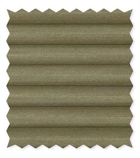 Energy - 25mm - Kleurstaal plissegordijnen - Fog green - C4601