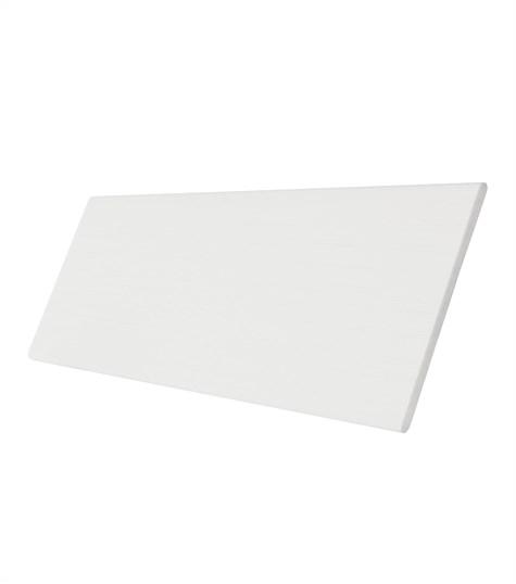 Harmony - Houten jaloezie 50mm kleurstaal - Zijde Wit ND003