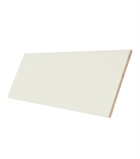 Harmony - Houten jaloezie 50mm kleurstaal - Creme Wit ND006