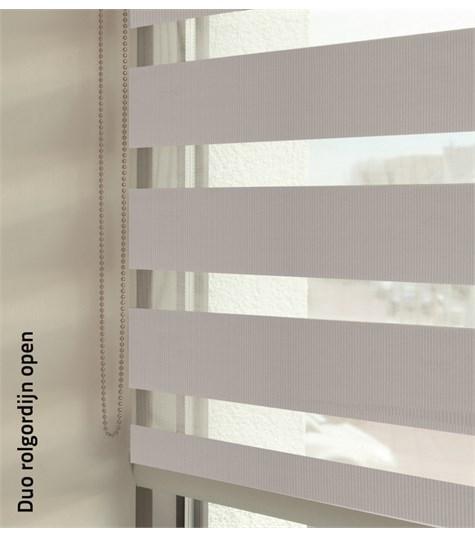 Duo rolgordijnen - Entry kleurstaal - Parelmoer 88104