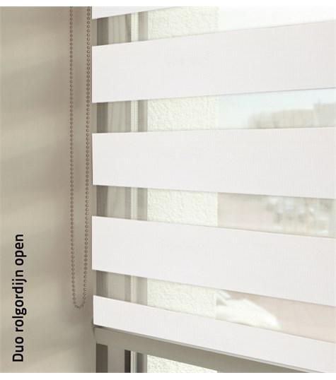 Duo rolgordijnen - Entry kleurstaal - Wit 88106