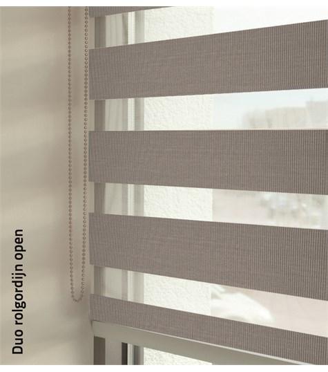 Duo rolgordijnen - Entry kleurstaal - Zilver 88111