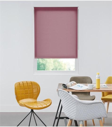 Authentics - Rolgordijn Semi Transparant - Bordeaux Rood AST4768