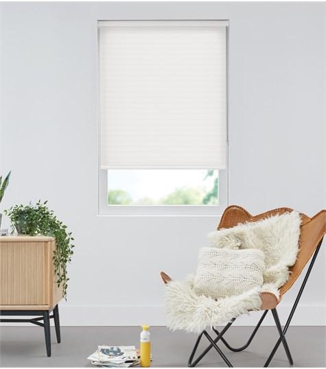 Authentics - Rolgordijn Designer - Zebra Wit DEST5362