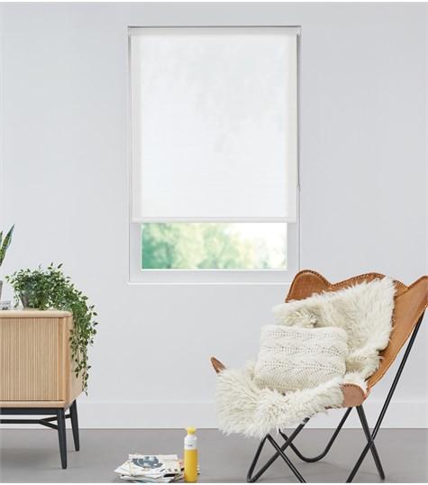 Authentics - Rolgordijn Designer Transparant - Voile Wit DET3004