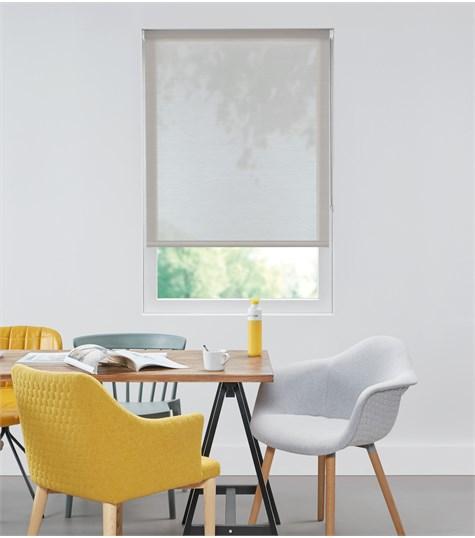Authentics - Rolgordijn Designer Transparant - Voile Zilver DET3016