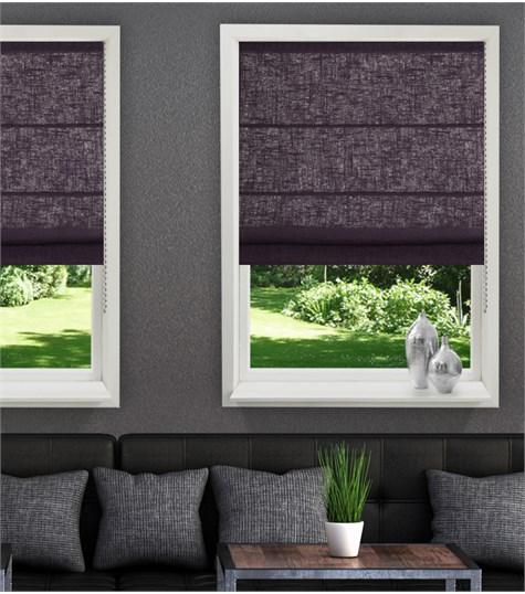 Panache vouwgordijn - Quadrant grey
