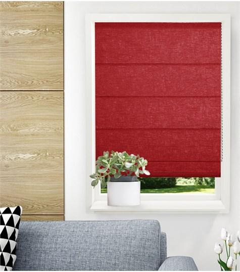 Panache vouwgordijn - Bright red