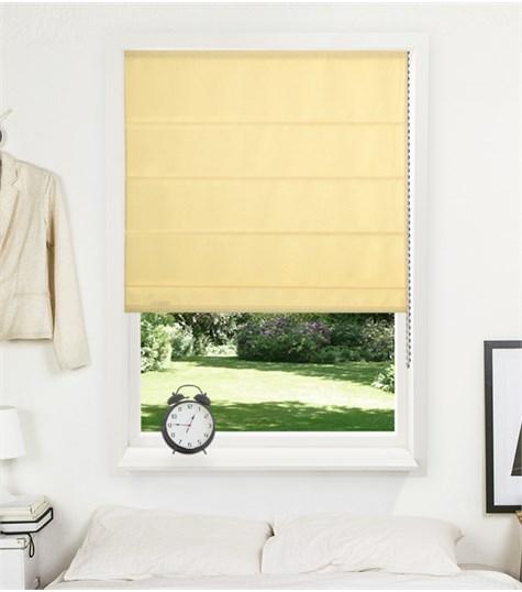 Panache vouwgordijn - Sunshine yellow
