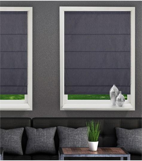 Panache - Vouwgordijn - Silvered grey F0217
