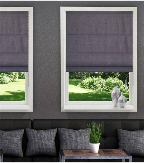 Panache vouwgordijn - Peppered grey