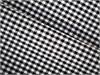 Panache - Vouwgordijn - Black Gingham F0031