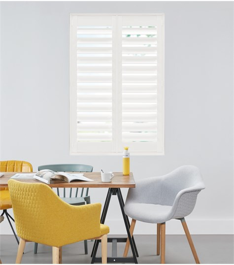Woodlore Plus - Full height shutter 114mm - Decorators White WP063