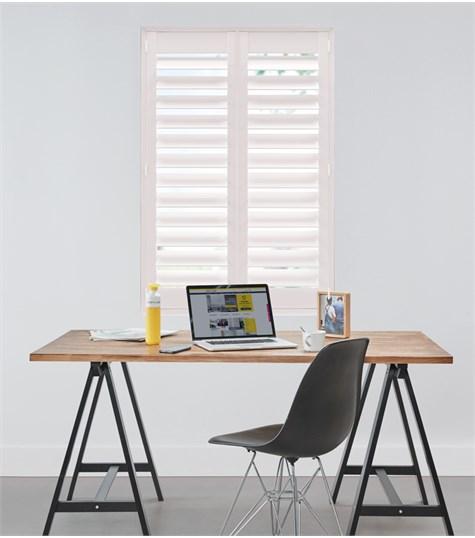 Woodlore Plus - Full height shutter 114mm - Chalk Pink WP079