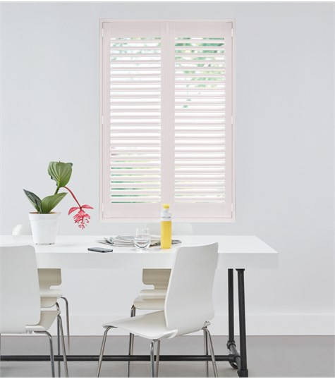 Woodlore Plus - Full height shutter 63mm - Chalk Pink WP079