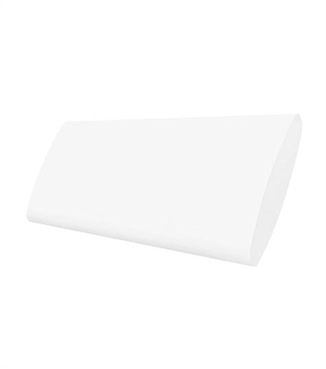 Woodlore Plus - Track system bi-fold shutter 114mm - Pure White WP001