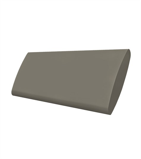 Woodlore Plus - Track system bi-fold shutter 114mm - Brown Grey WP051