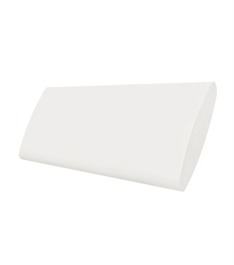 Woodlore Plus - Track system bi-fold shutter 114mm - Decorators White WP063