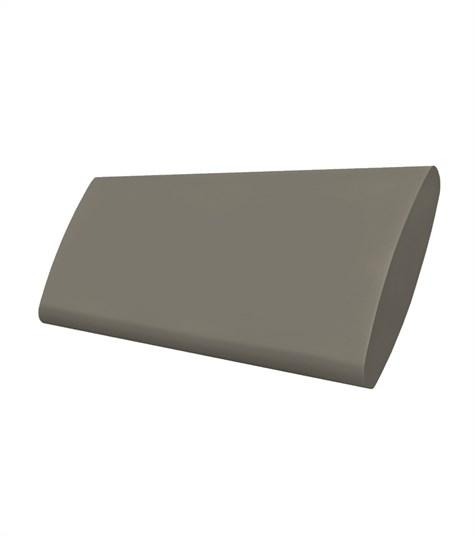 Woodlore Plus - Track system bi-fold shutter 63mm - Brown Grey WP051