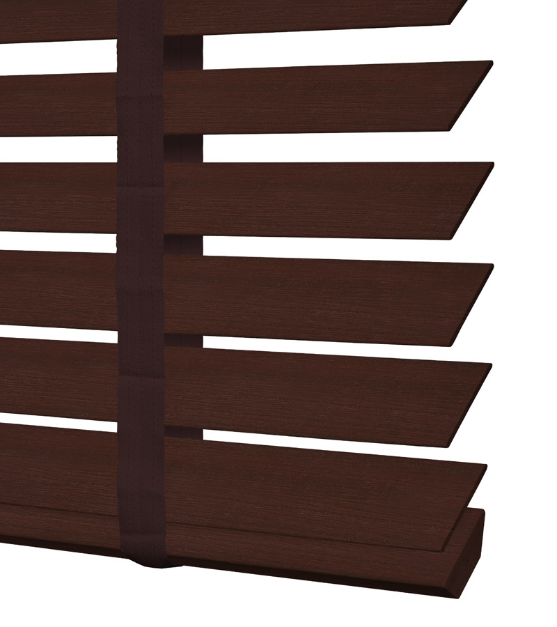 Essentials houten jaloezie deco 50mm kersen ed233 - Houten deco ...
