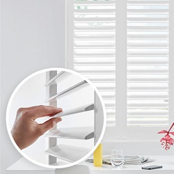 houten shutters invisible tilt