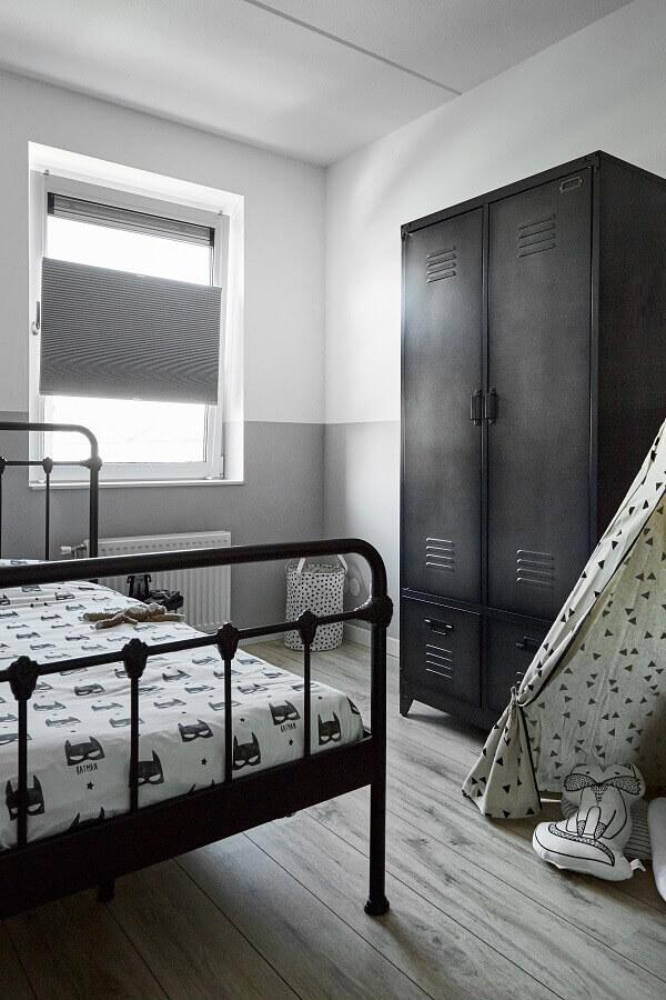 Verduisterende plisse slaapkamer