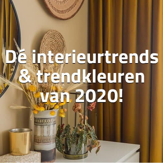Interieurkleuren en -trends 2020